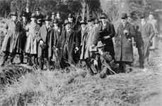 The first Forestry Class of 1918