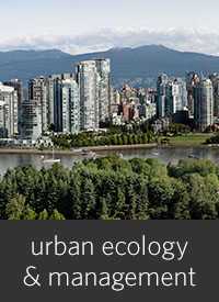 Urban Ecology and Management