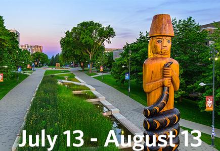 Vancouver Summer Program Dates Banner for 2019